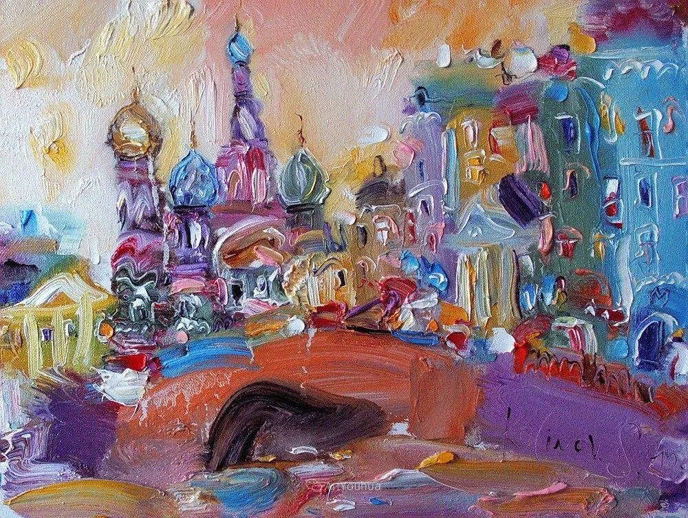 天真抒情表现主义,Sergey Kotinov和Galina Kotinova作品欣赏插图23