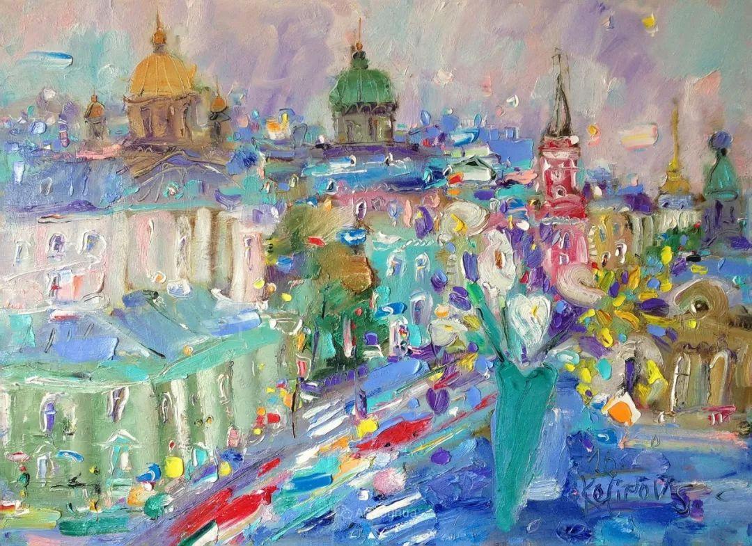 天真抒情表现主义,Sergey Kotinov和Galina Kotinova作品欣赏插图24