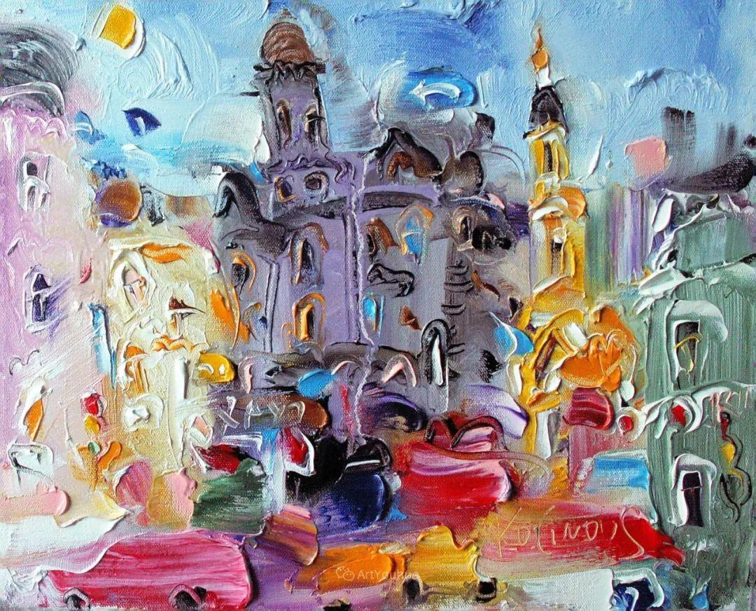 天真抒情表现主义,Sergey Kotinov和Galina Kotinova作品欣赏插图25