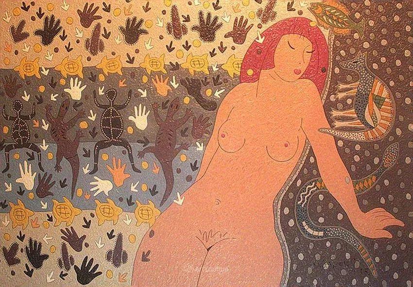 天真抒情表现主义,Sergey Kotinov和Galina Kotinova作品欣赏插图26
