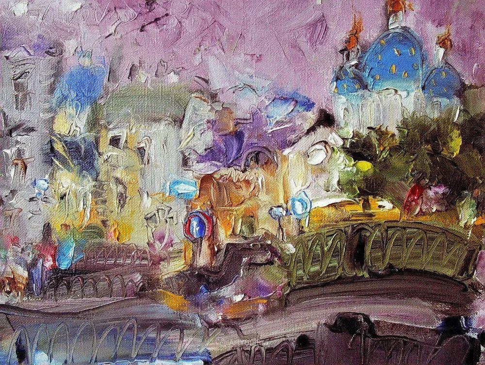 天真抒情表现主义,Sergey Kotinov和Galina Kotinova作品欣赏插图27