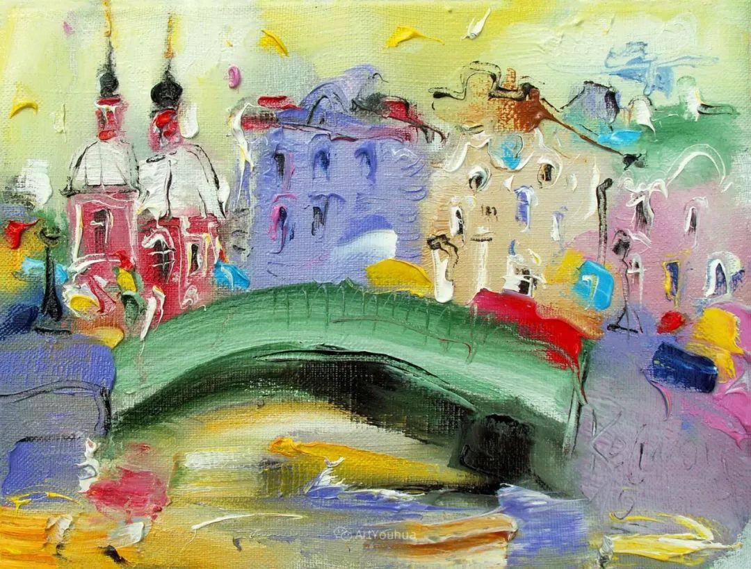 天真抒情表现主义,Sergey Kotinov和Galina Kotinova作品欣赏插图33