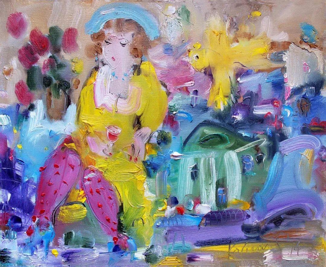 天真抒情表现主义,Sergey Kotinov和Galina Kotinova作品欣赏插图36