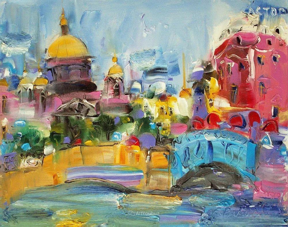 天真抒情表现主义,Sergey Kotinov和Galina Kotinova作品欣赏插图37