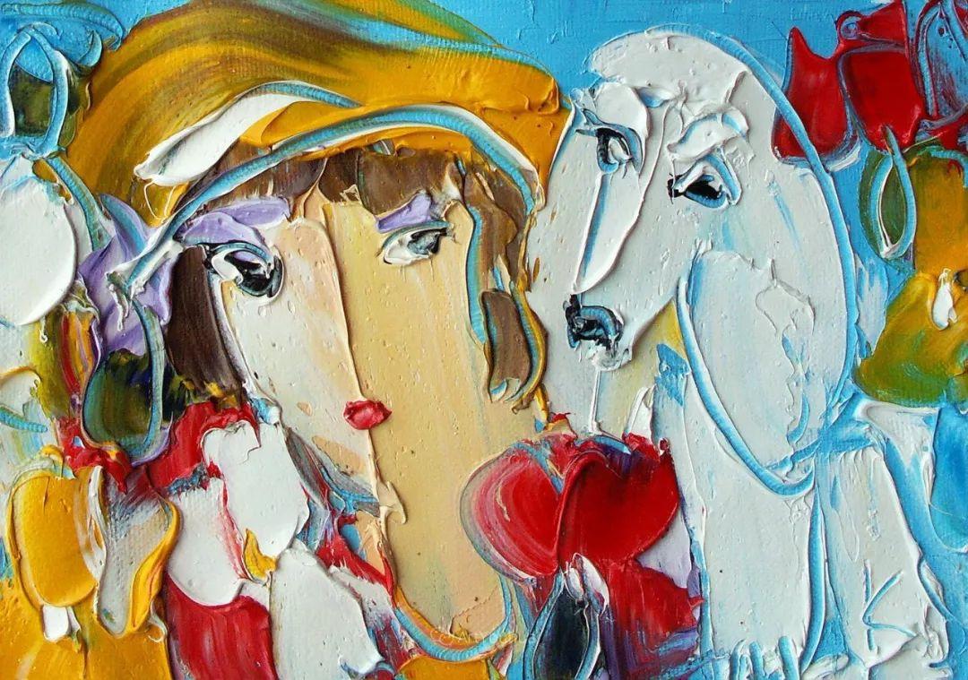 天真抒情表现主义,Sergey Kotinov和Galina Kotinova作品欣赏插图43