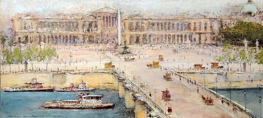 欧洲城市风情,乌克兰画家古克·安德烈插图17
