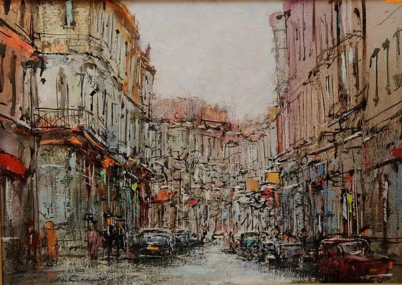 欧洲城市风情,乌克兰画家古克·安德烈插图25