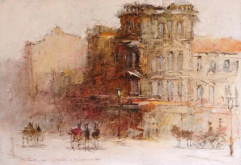 欧洲城市风情,乌克兰画家古克·安德烈插图29