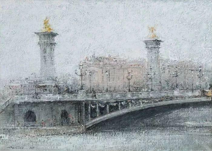 欧洲城市风情,乌克兰画家古克·安德烈插图41