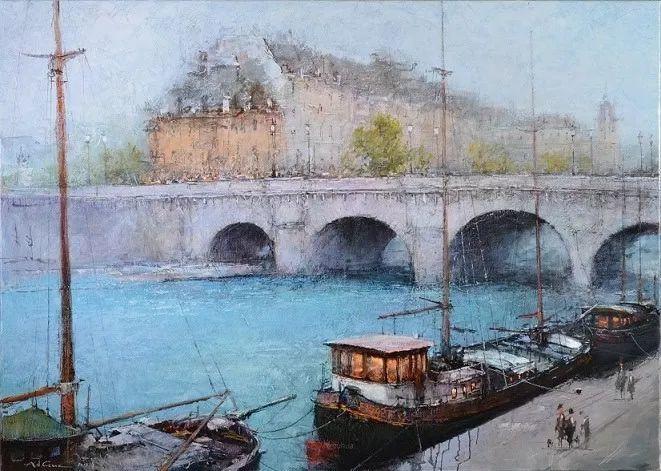 欧洲城市风情,乌克兰画家古克·安德烈插图47
