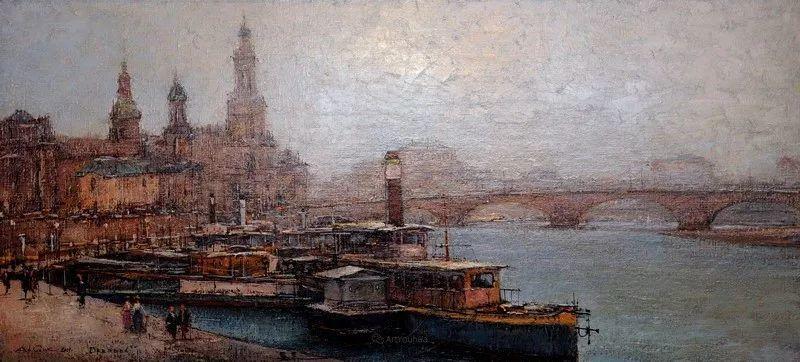 欧洲城市风情,乌克兰画家古克·安德烈插图51