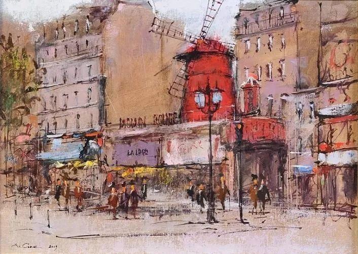 欧洲城市风情,乌克兰画家古克·安德烈插图59