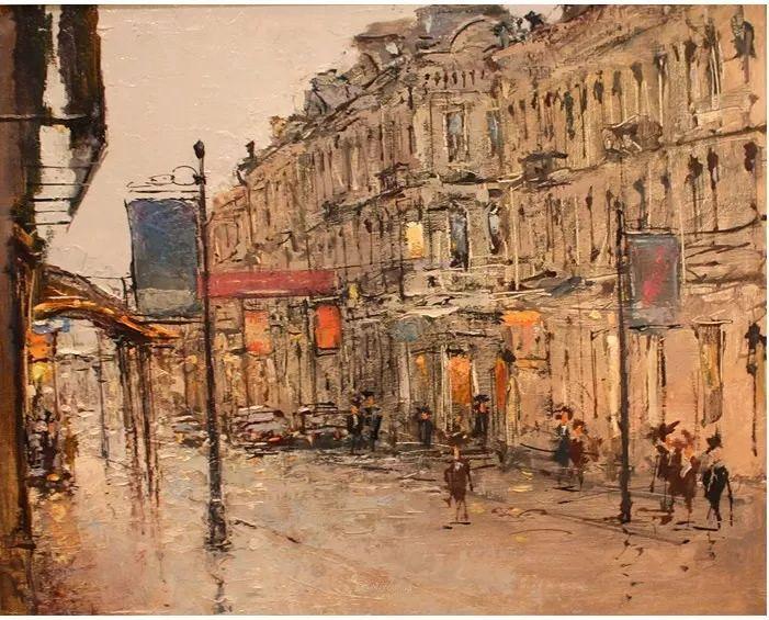 欧洲城市风情,乌克兰画家古克·安德烈插图61