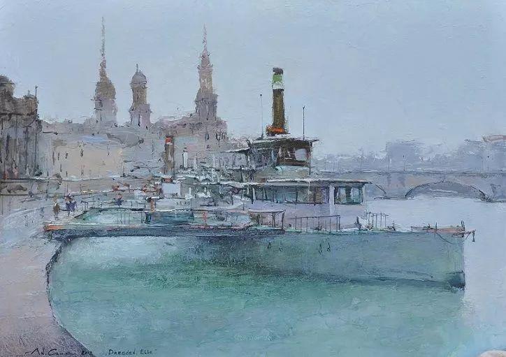 欧洲城市风情,乌克兰画家古克·安德烈插图63