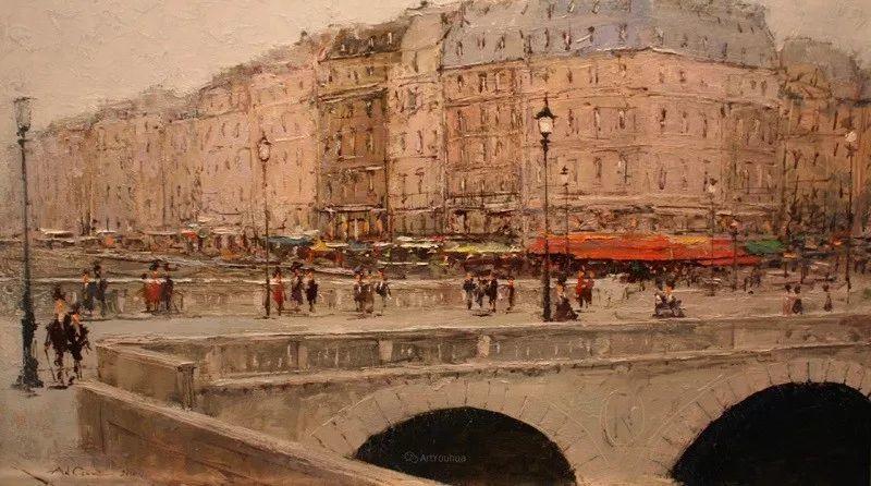欧洲城市风情,乌克兰画家古克·安德烈插图67