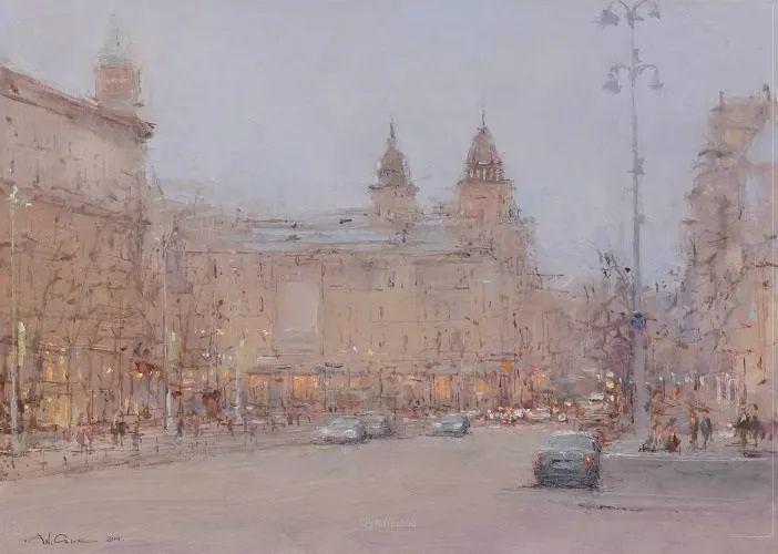 欧洲城市风情,乌克兰画家古克·安德烈插图69