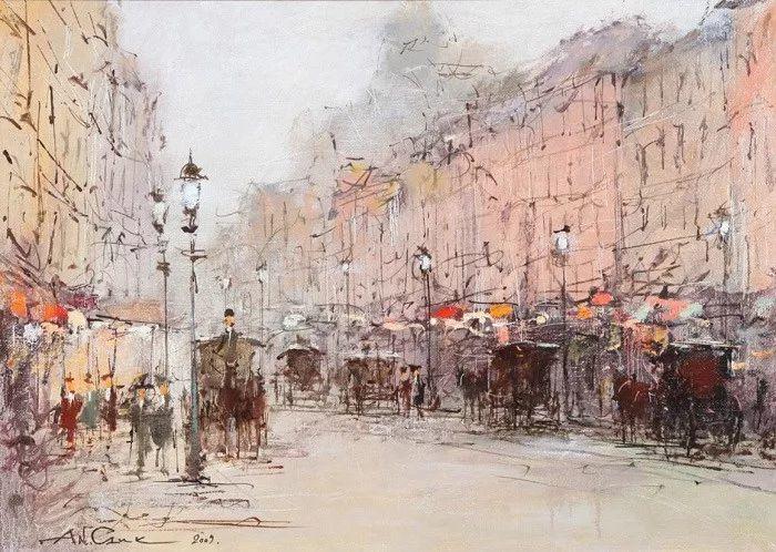 欧洲城市风情,乌克兰画家古克·安德烈插图75