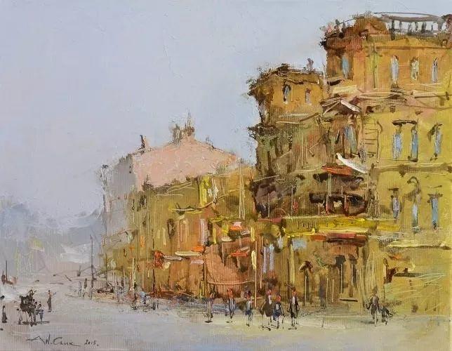 欧洲城市风情,乌克兰画家古克·安德烈插图77