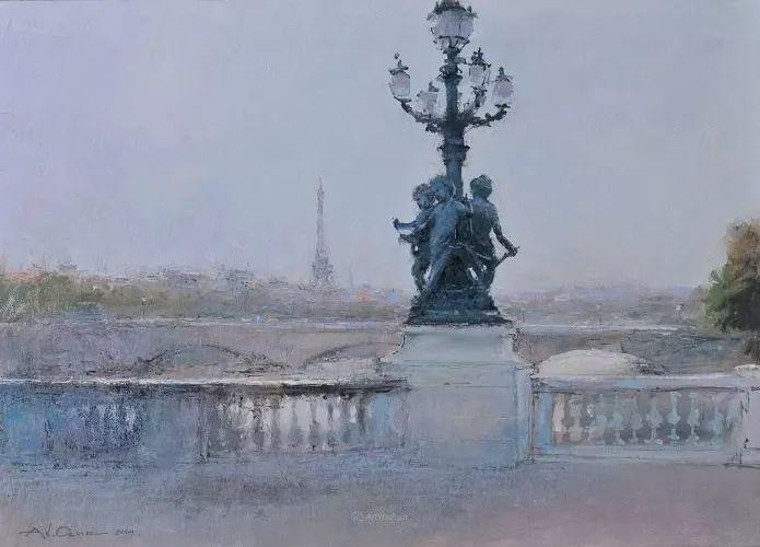 欧洲城市风情,乌克兰画家古克·安德烈插图79