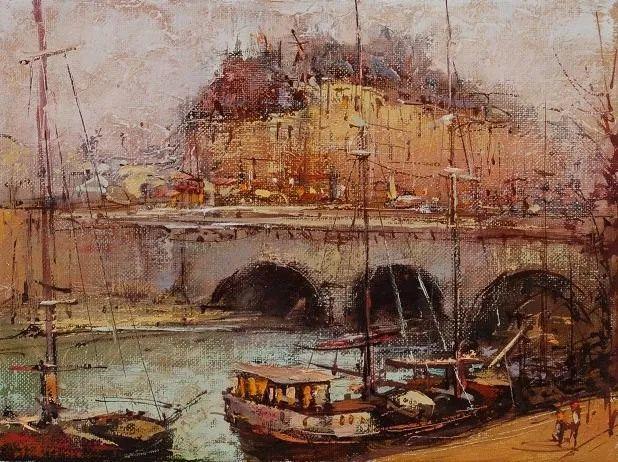 欧洲城市风情,乌克兰画家古克·安德烈插图85