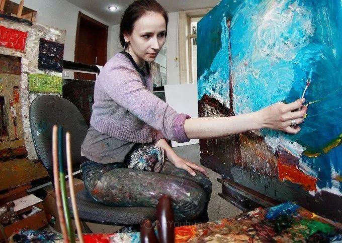 俄罗斯青年女画家Elena Bobrova插图5