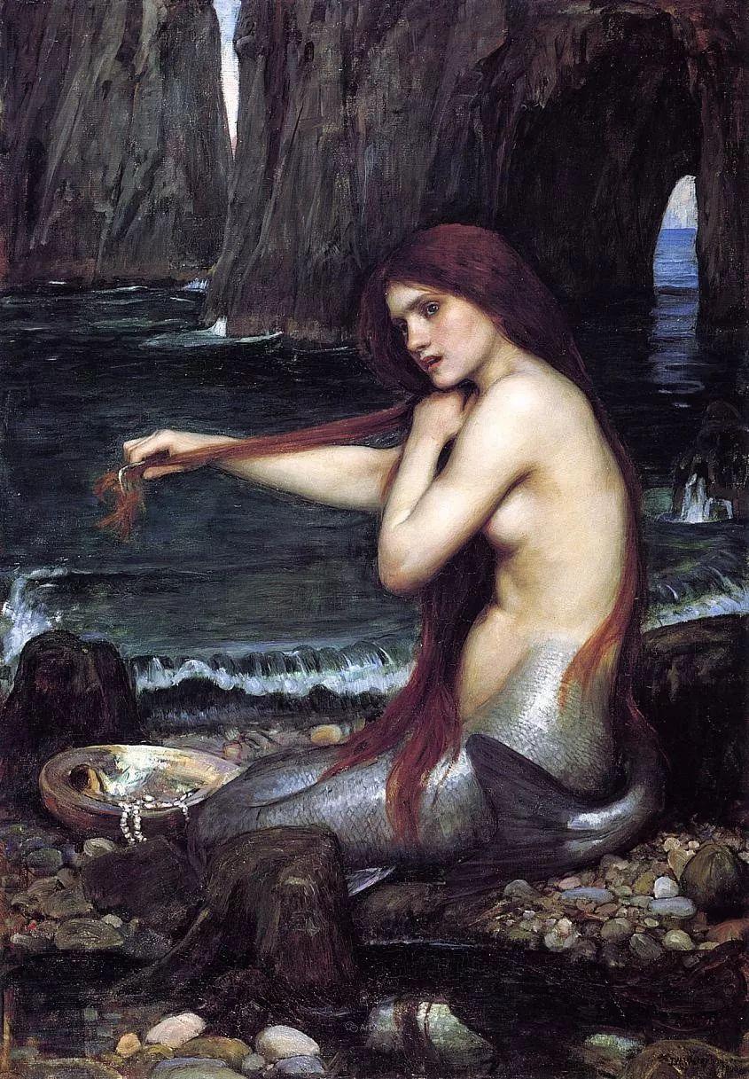 美若天仙的唯美诗性 ,英国皇家美术学院院士约翰·威廉姆·沃特豪斯插图3
