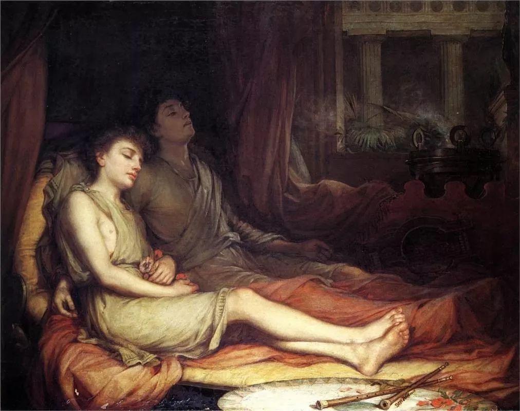美若天仙的唯美诗性 ,英国皇家美术学院院士约翰·威廉姆·沃特豪斯插图4