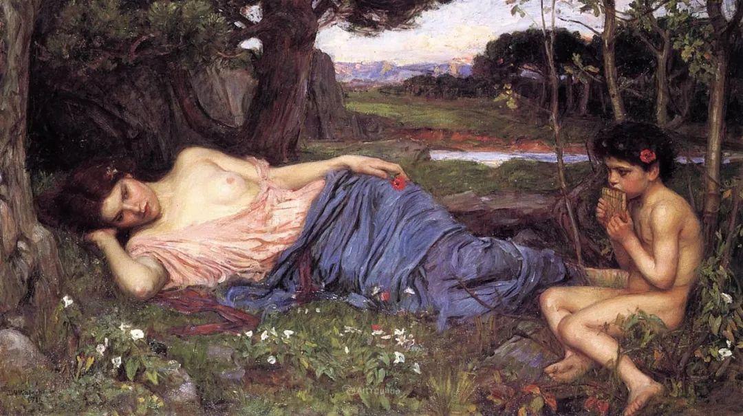 美若天仙的唯美诗性 ,英国皇家美术学院院士约翰·威廉姆·沃特豪斯插图7