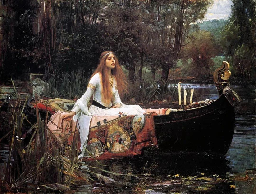 美若天仙的唯美诗性 ,英国皇家美术学院院士约翰·威廉姆·沃特豪斯插图10