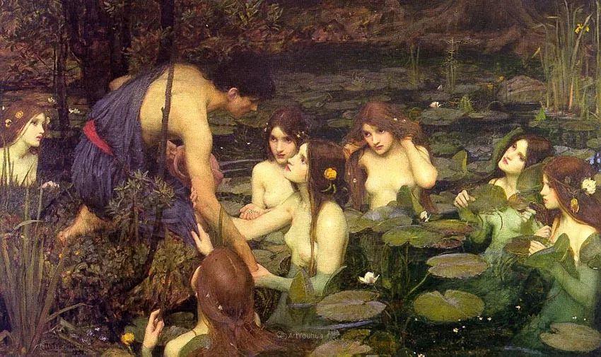 美若天仙的唯美诗性 ,英国皇家美术学院院士约翰·威廉姆·沃特豪斯插图11