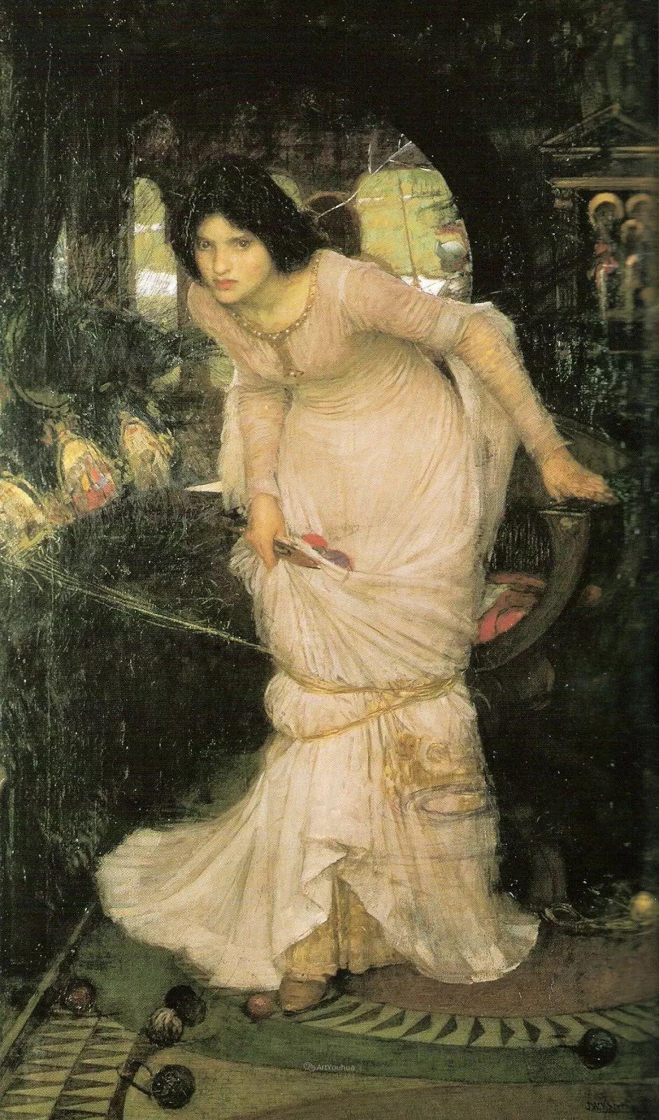 美若天仙的唯美诗性 ,英国皇家美术学院院士约翰·威廉姆·沃特豪斯插图13