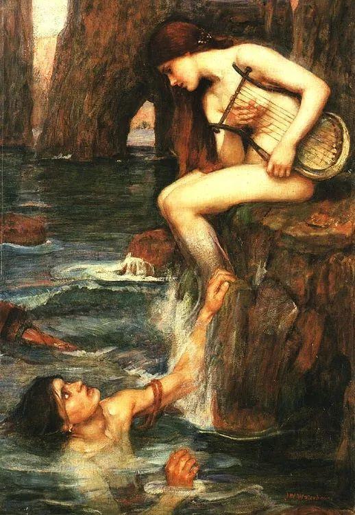美若天仙的唯美诗性 ,英国皇家美术学院院士约翰·威廉姆·沃特豪斯插图16