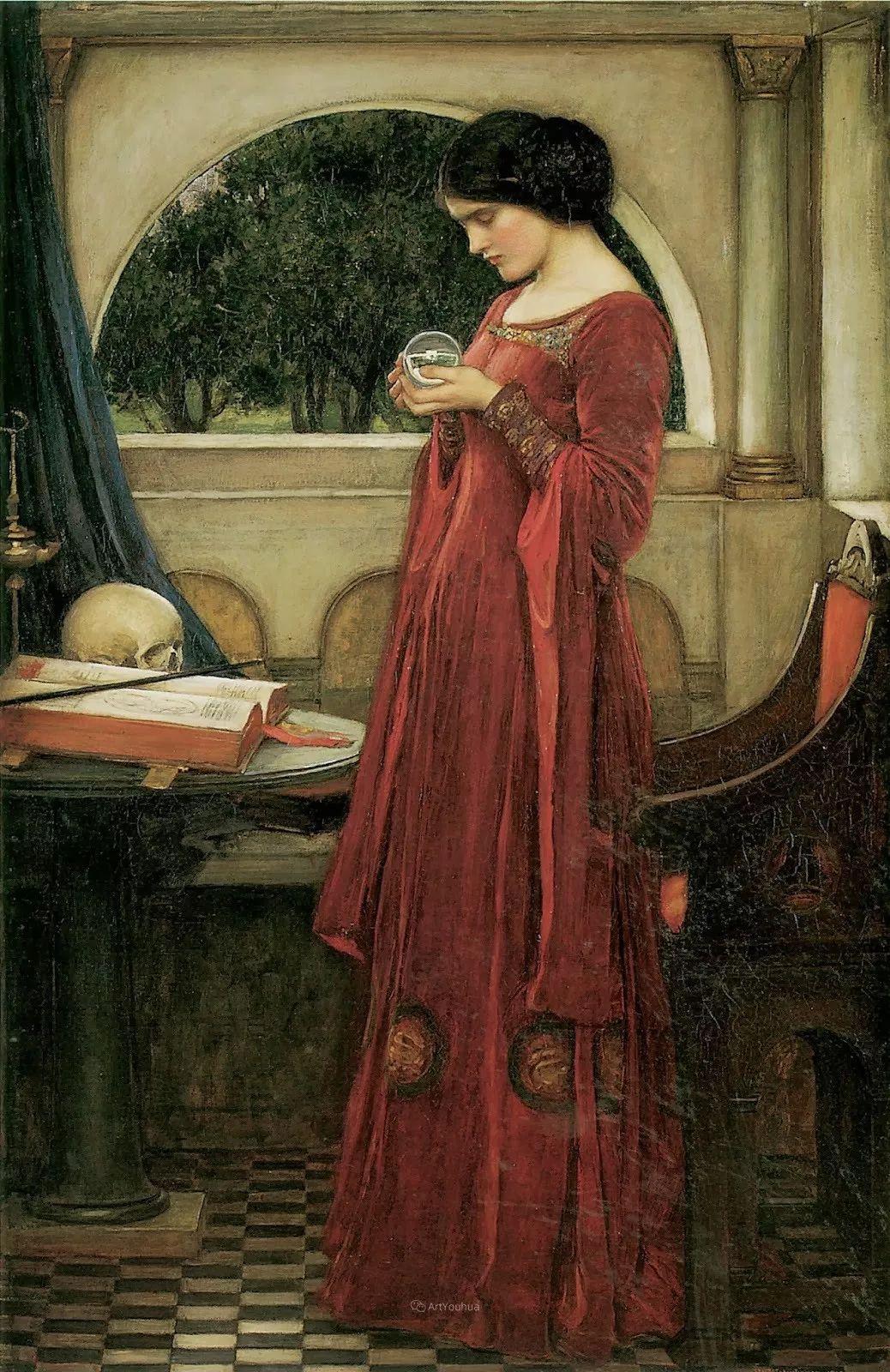 美若天仙的唯美诗性 ,英国皇家美术学院院士约翰·威廉姆·沃特豪斯插图17