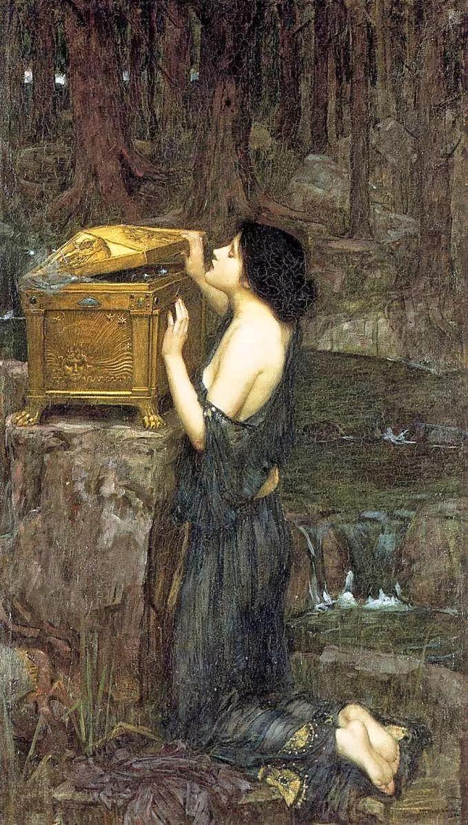 美若天仙的唯美诗性 ,英国皇家美术学院院士约翰·威廉姆·沃特豪斯插图19