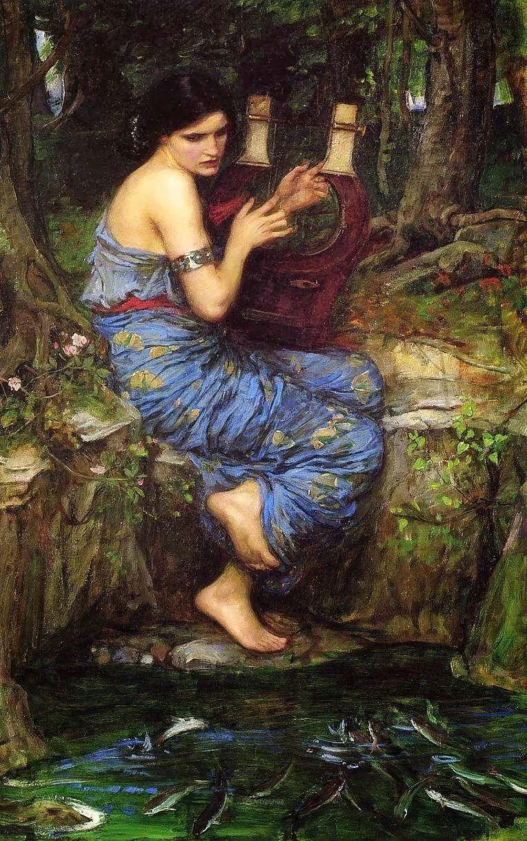 美若天仙的唯美诗性 ,英国皇家美术学院院士约翰·威廉姆·沃特豪斯插图20