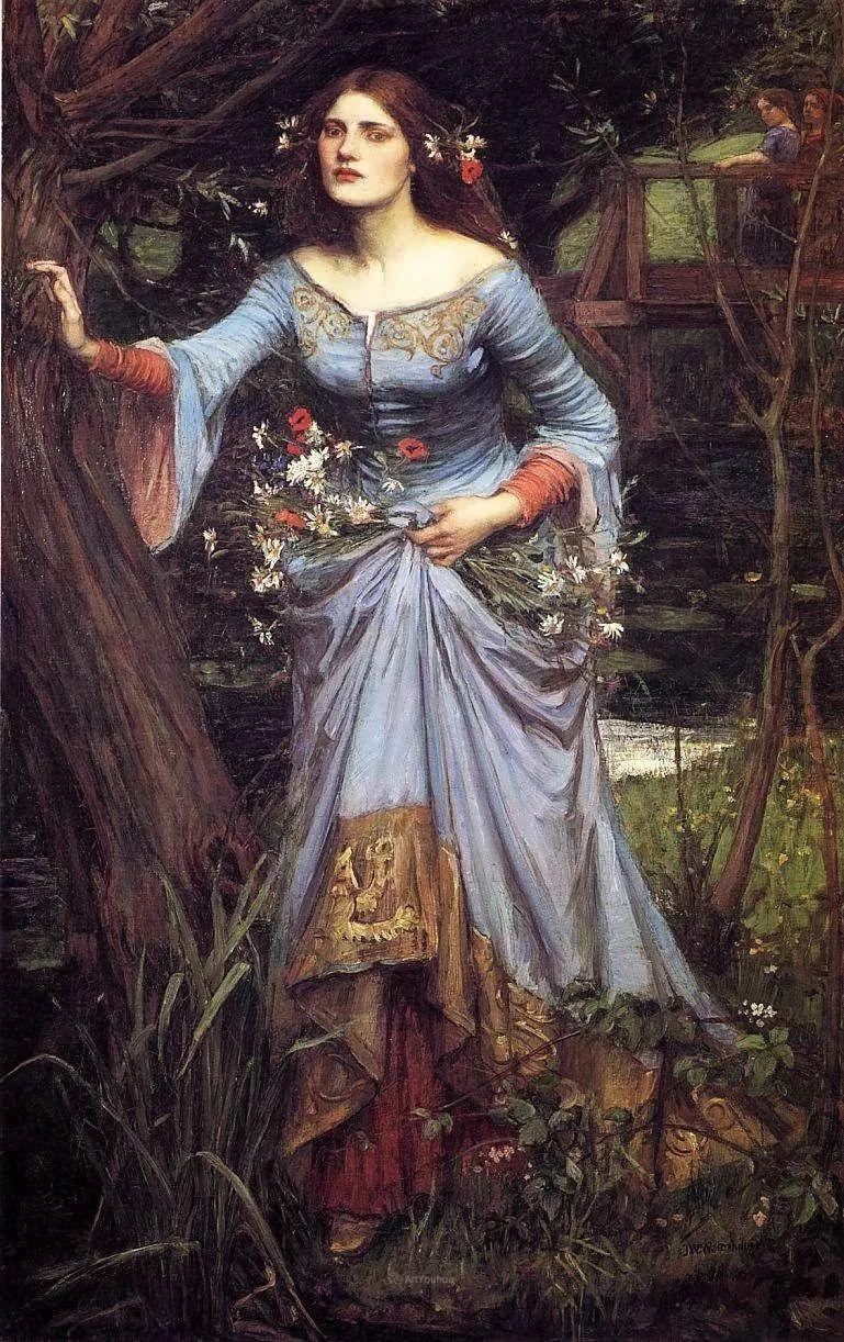美若天仙的唯美诗性 ,英国皇家美术学院院士约翰·威廉姆·沃特豪斯插图21