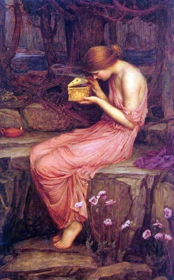 美若天仙的唯美诗性 ,英国皇家美术学院院士约翰·威廉姆·沃特豪斯插图22