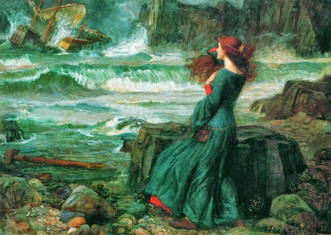 美若天仙的唯美诗性 ,英国皇家美术学院院士约翰·威廉姆·沃特豪斯插图24
