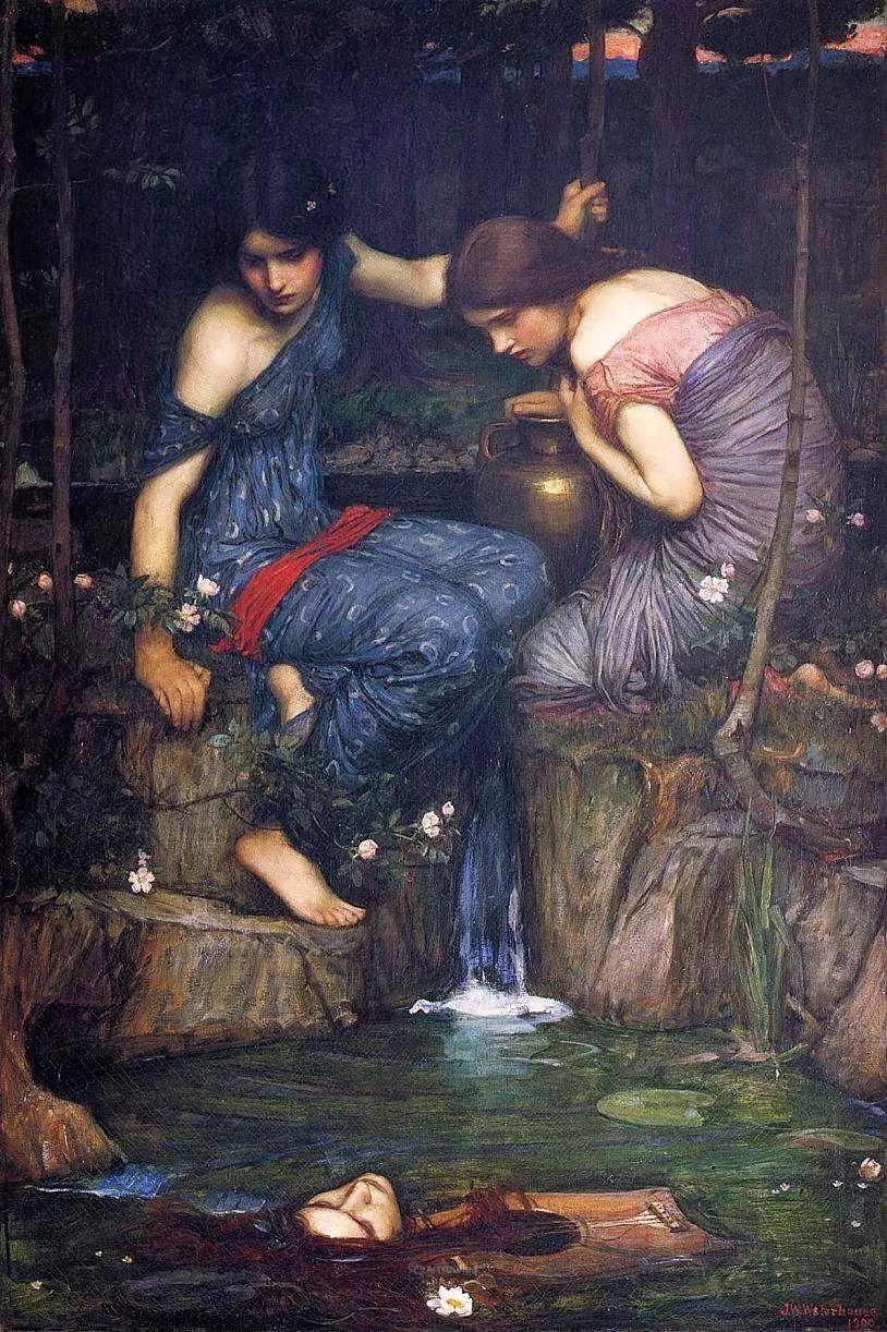 美若天仙的唯美诗性 ,英国皇家美术学院院士约翰·威廉姆·沃特豪斯插图25