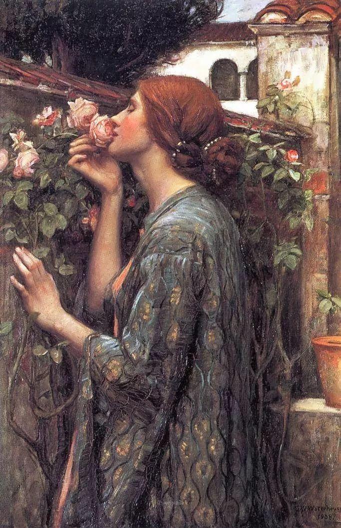 美若天仙的唯美诗性 ,英国皇家美术学院院士约翰·威廉姆·沃特豪斯插图26