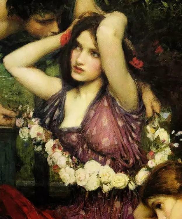 美若天仙的唯美诗性 ,英国皇家美术学院院士约翰·威廉姆·沃特豪斯插图27