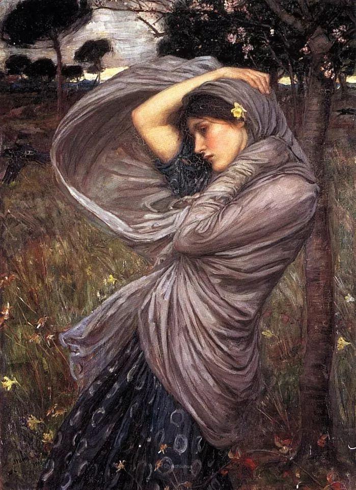 美若天仙的唯美诗性 ,英国皇家美术学院院士约翰·威廉姆·沃特豪斯插图28