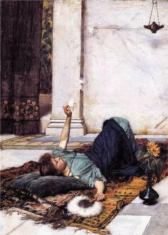 美若天仙的唯美诗性 ,英国皇家美术学院院士约翰·威廉姆·沃特豪斯插图29