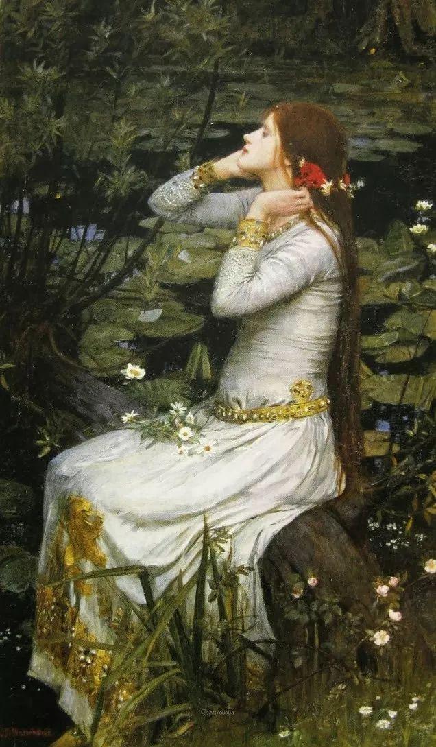 美若天仙的唯美诗性 ,英国皇家美术学院院士约翰·威廉姆·沃特豪斯插图30