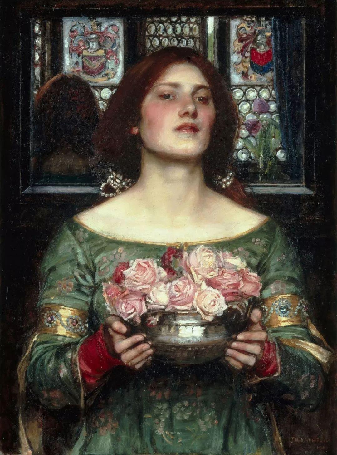 美若天仙的唯美诗性 ,英国皇家美术学院院士约翰·威廉姆·沃特豪斯插图31