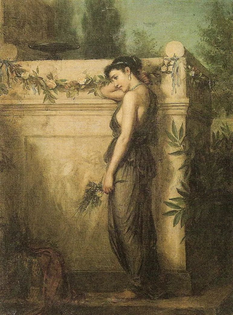 美若天仙的唯美诗性 ,英国皇家美术学院院士约翰·威廉姆·沃特豪斯插图32