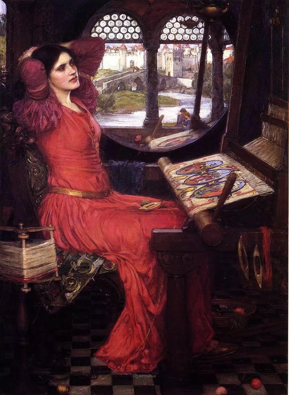 美若天仙的唯美诗性 ,英国皇家美术学院院士约翰·威廉姆·沃特豪斯插图40