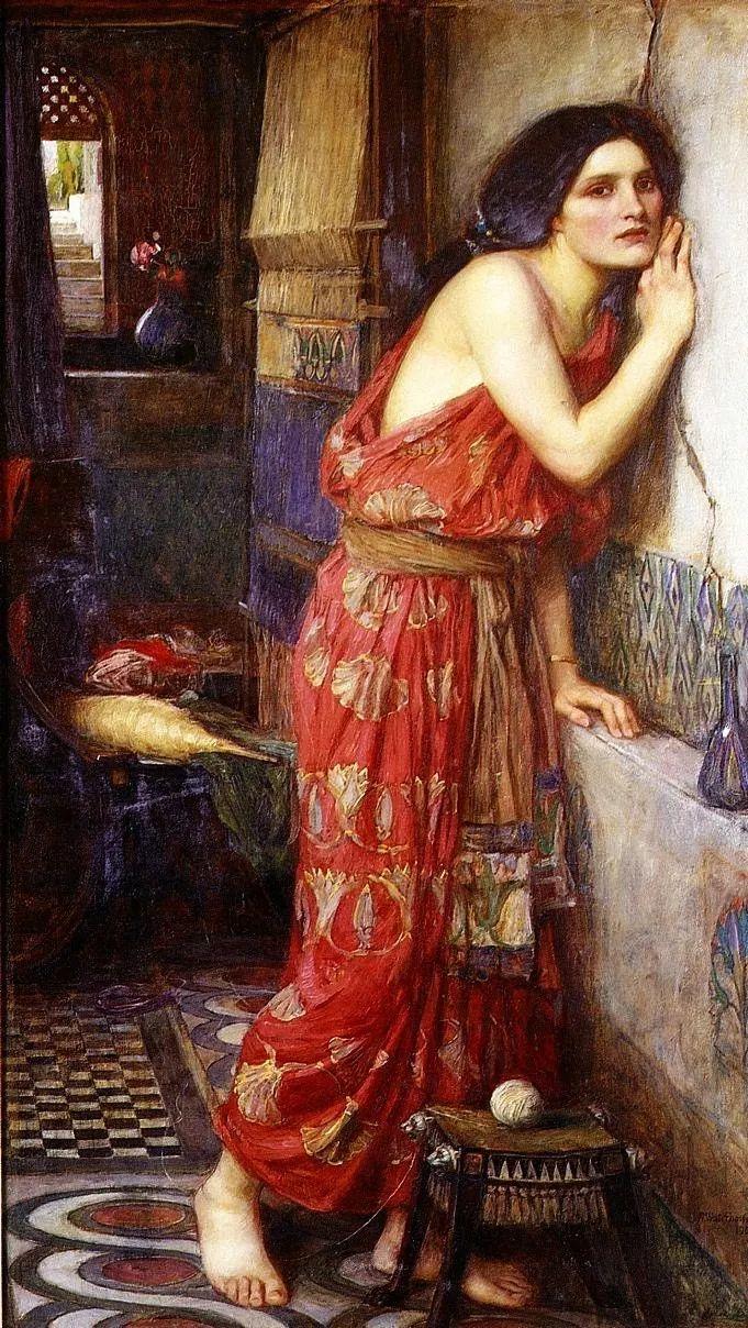 美若天仙的唯美诗性 ,英国皇家美术学院院士约翰·威廉姆·沃特豪斯插图41