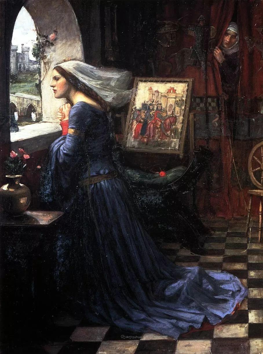 美若天仙的唯美诗性 ,英国皇家美术学院院士约翰·威廉姆·沃特豪斯插图42