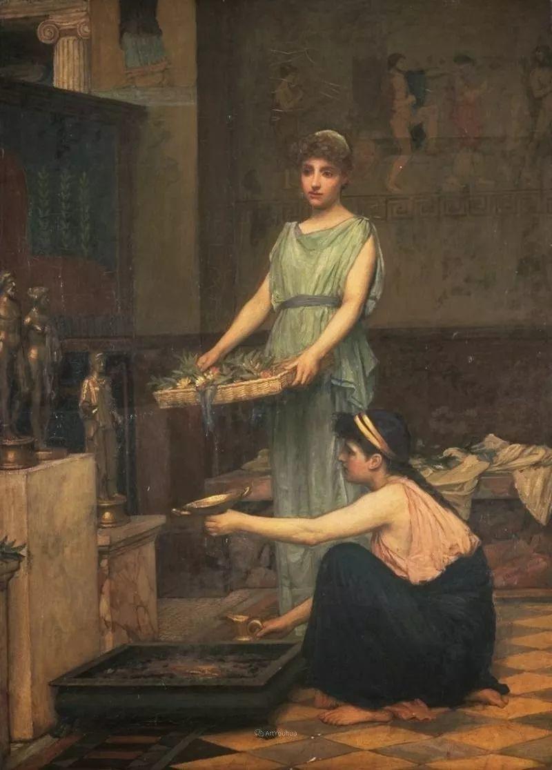 美若天仙的唯美诗性 ,英国皇家美术学院院士约翰·威廉姆·沃特豪斯插图45